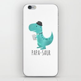 Papa-saur iPhone Skin