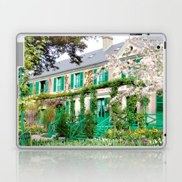 Claude Monet's Garden and Home Laptop & iPad Skin