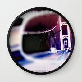 Rear View Mirror Wall Clock