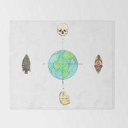 Anthropology: The Four Subdisciplines (Version 1.0) Throw Blanket
