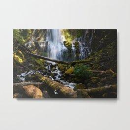 Lower Proxy Falls Metal Print