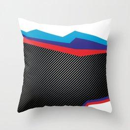 Speed Power Adrenalin Throw Pillow