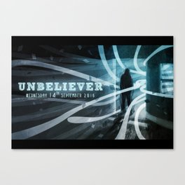 Unbeliver Canvas Print