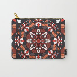 Mandala with autumn colors Carry-All Pouch