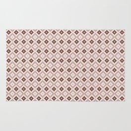 Guarda Pampa Pattern: Rhomboid Steps Rug