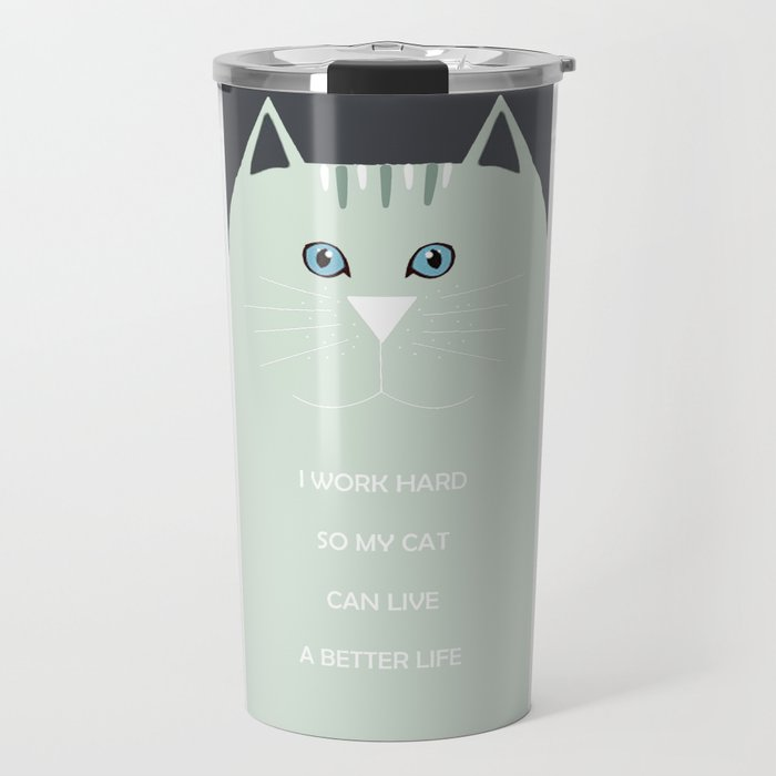 I <3 cats Travel Mug