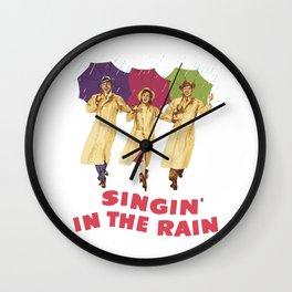 Singin in the Rain Wall Clock