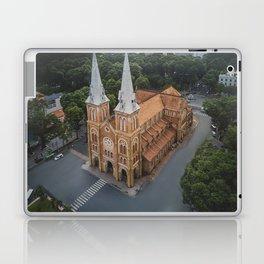 Notre-Dame Cathedral Basilica of Saigon Laptop & iPad Skin