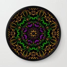 Secondary Kaleidoscope Wall Clock
