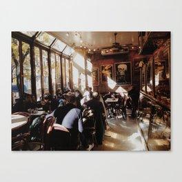 cafe light Canvas Print