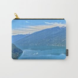 Heaven's Canvas  - Slocan Lake, B.C. Canada Carry-All Pouch