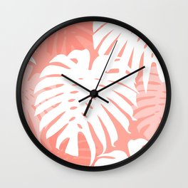 P E A C H Y  JUNGLE Wall Clock