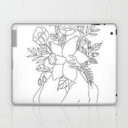 Blossom Hug Laptop & iPad Skin