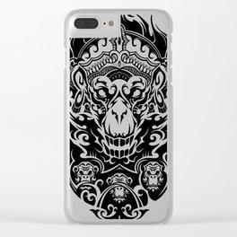 Hanuman Clear iPhone Case