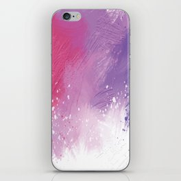 Paint Brushing iPhone Skin