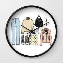Soft Rock Wall Clock