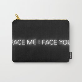 NEON FACE ME Carry-All Pouch