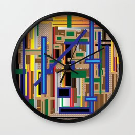 The play of balance Wall Clock