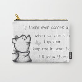 Insightful Pooh Carry-All Pouch