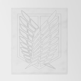 Survey Corps Throw Blanket