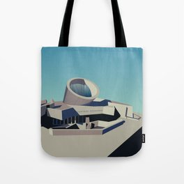 Soviet Modernism: Youth Metro Station in Yerevan, Armenia Tote Bag