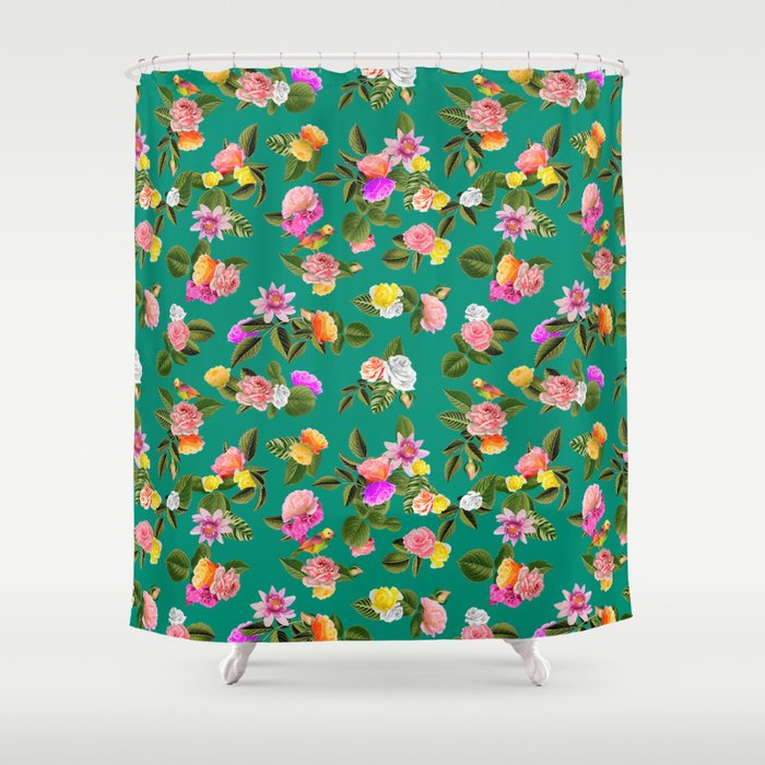 Frida Floral Shower Curtain