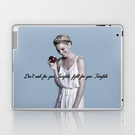 Don't wish for your Fairytale, fight for your Fairytale. Laptop & iPad Skin