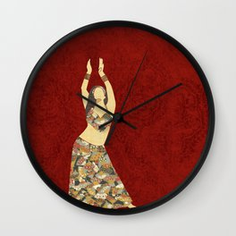 Belly dancer 3 Wall Clock