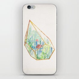 Terrarium Garden I iPhone Skin