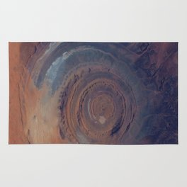 eye in the sky, eye in the desert | space #01 Rug