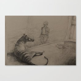 Tasmanian Tiger Tribute Canvas Print