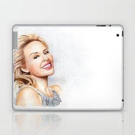 Kylie Minogue Blonde Portrait Laptop & iPad Skin