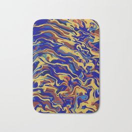 Abstract Alma Llanera Bath Mat