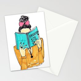 Fashion Print, Fashion 101, Fashion Illustration Print, Pinales Illustrated Stationery Cards