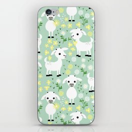 Baby goats iPhone Skin