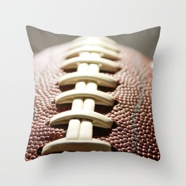 Football Season, American Sports, Pigskin Throw Pillow