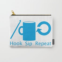 Hooks and Coffee Carry-All Pouch