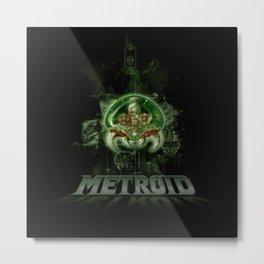 The Last Metroid Metal Print