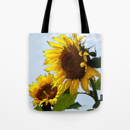 Sunflower Duet Tote Bag