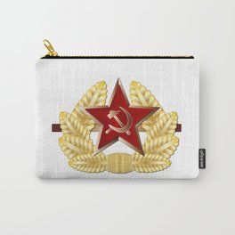 Soviet Cap Badge Carry-All Pouch