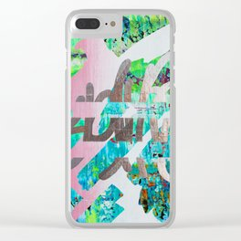 ABJECT - OBJECT Clear iPhone Case