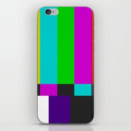 NTSC Color Bars iPhone Skin