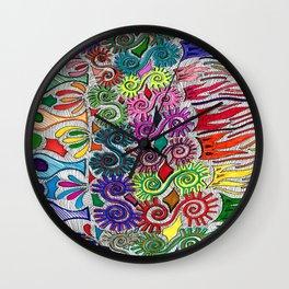 Spiketacular Wall Clock