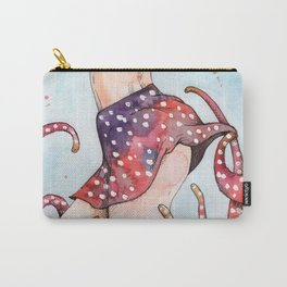 peeking tentacle Carry-All Pouch