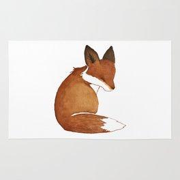 Resting Fox Rug