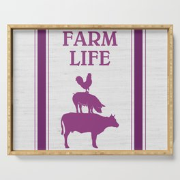 FARM LIFE Serving Tray