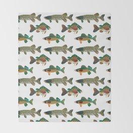 Freshwater Favorites Throw Blanket