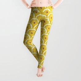 Lemons are watching you! – Strange Fruits Leggings