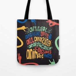 Alphabet Aerobics, Blackalicious Tote Bag