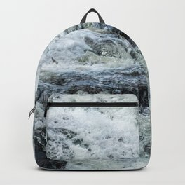 Waterfall texture Backpack